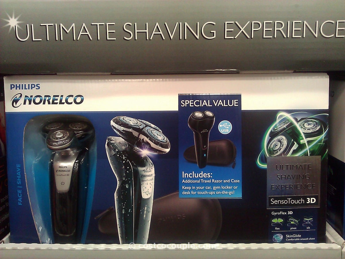 Philips Norelco SensoTouch 3D Shaver Combo Costco 2