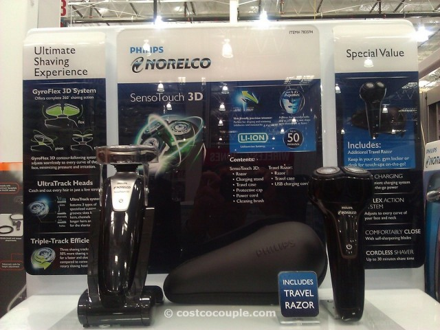 Philips Norelco SensoTouch 3D Shaver Combo Costco 3