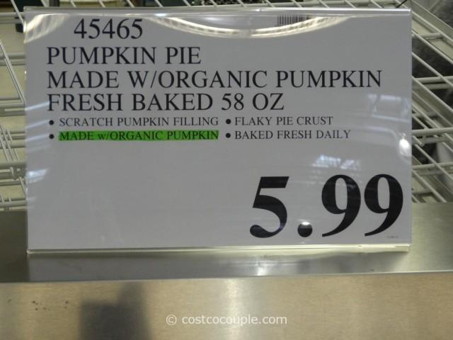 Pumpkin Pie with Organic Pumpkin Costco 2