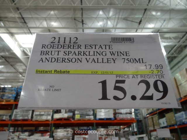 Roederer Estate Brut Sparkling Wine Costco 1