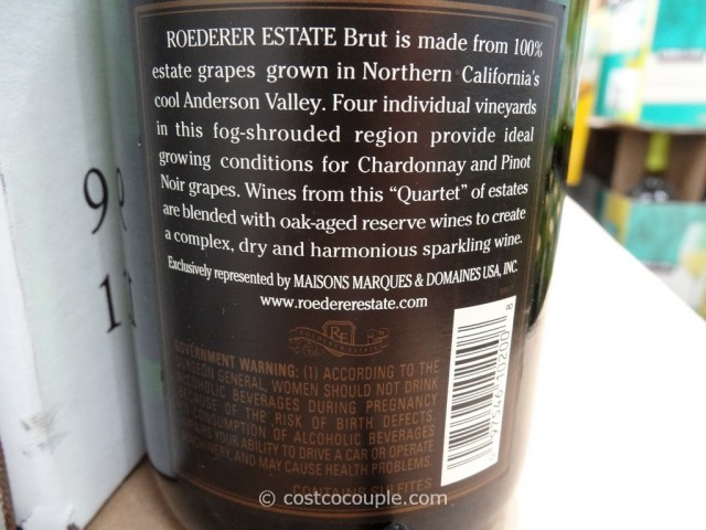 Roederer Estate Brut Sparkling Wine Costco4