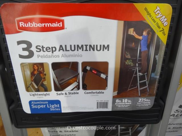 Rubbermaid Super Light Aluminum Stool Costco 3