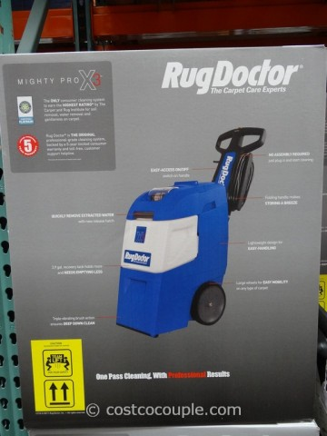 Rug Doctor Mighty Pro X3 Carpet Cleaner Costco 4