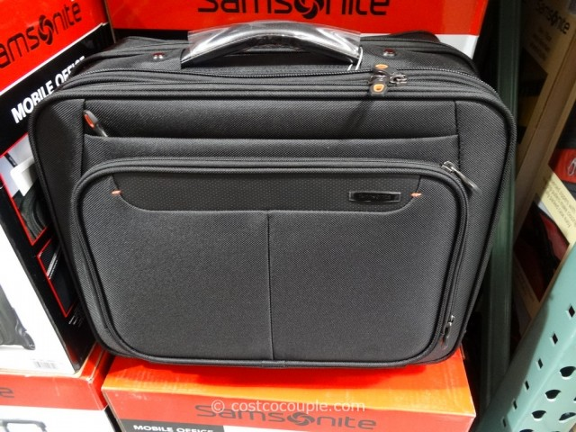 Samsonite Mobile Office Wheeled Briefcase Costco