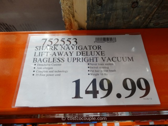 Shark Navigator Lift Away DLX Vacuum Costco 1
