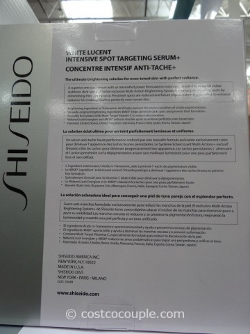 Shiseido White Lucent Intensive Spot Targeting Serum Costco 3