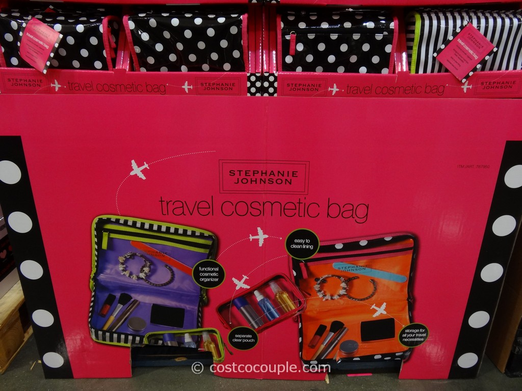 Stephanie Johnson Travel Cosmetic Bag Costco 2