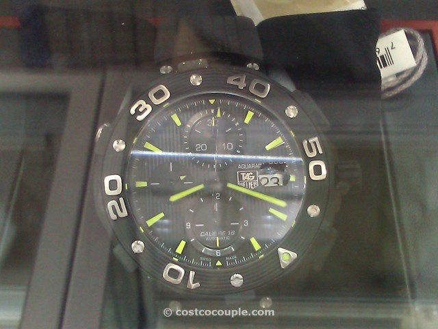 TAG Aquaracer Chronograph Black Costco 2