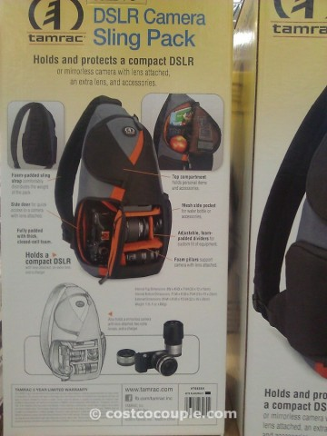 Tamrac DSLR Camera Sling Backpack Costco 5