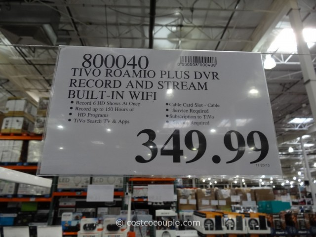 Tivo Roamio Plus DVR Costco 2