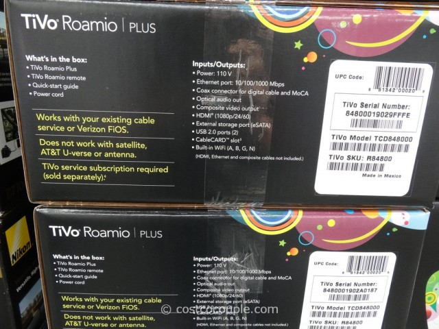 Tivo Roamio Plus DVR Costco 3