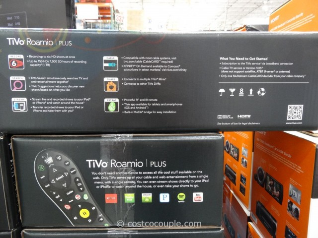 Tivo Roamio Plus DVR Costco 4