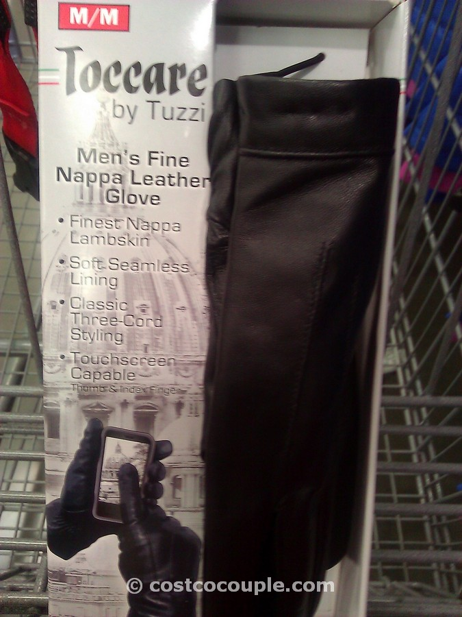 Toccare By Tuzzi Men S Leather Gloves