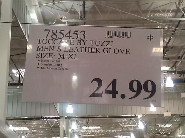 Toccare by Tuzzi Mens Leather Glove Costco 2