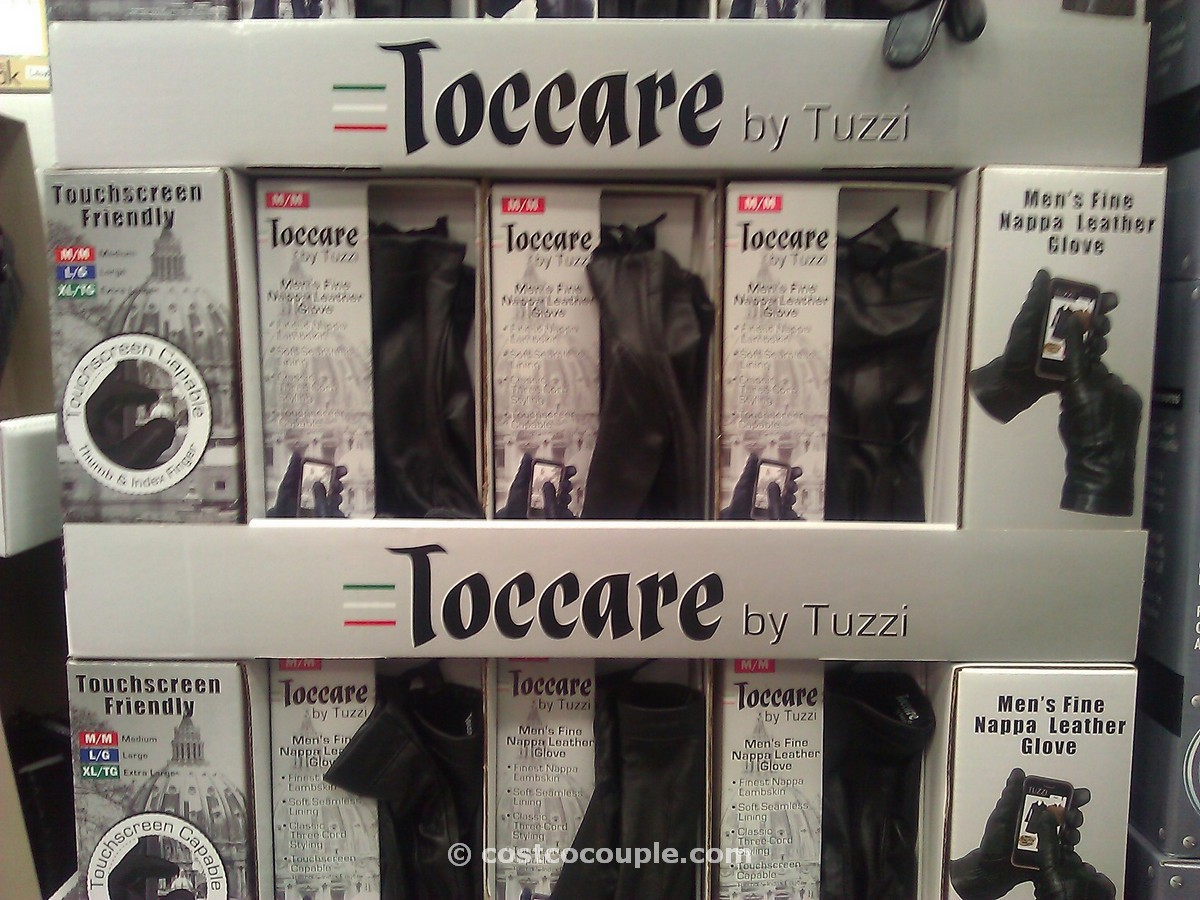 Toccare by Tuzzi Mens Leather Glove Costco 3