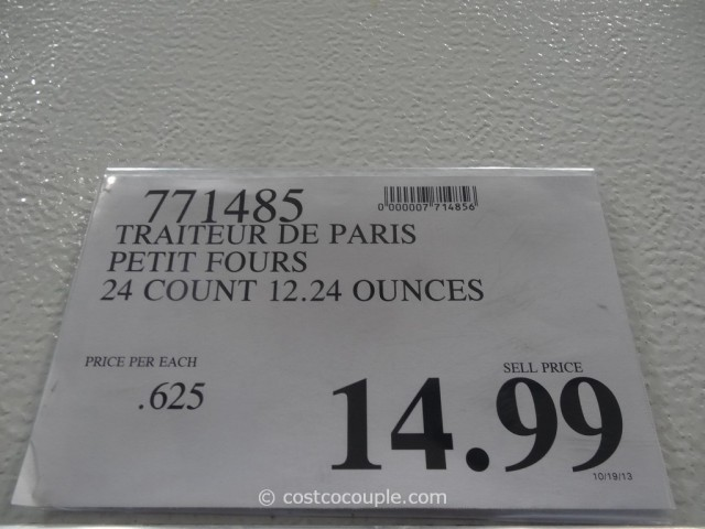 Traiteur De Paris Petit Fours Costco 1