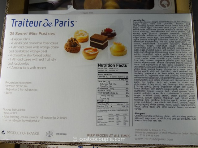 Traiteur De Paris Petit Fours Costco 3