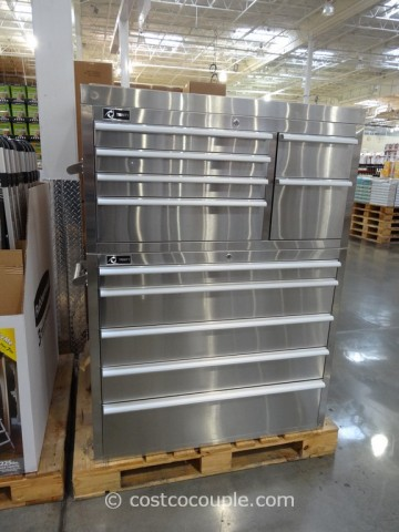 Trinity Stainless Steel Tool Chest Costco 1