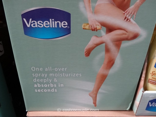 Vaseline Spray and Go Moisturizer Costco 2