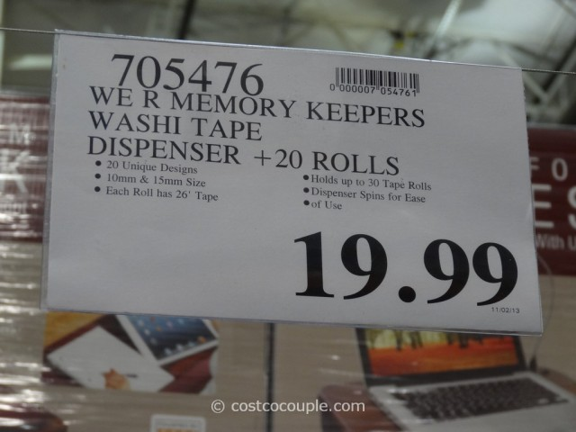 We R Memory Keepers Washi Pack Costco 1
