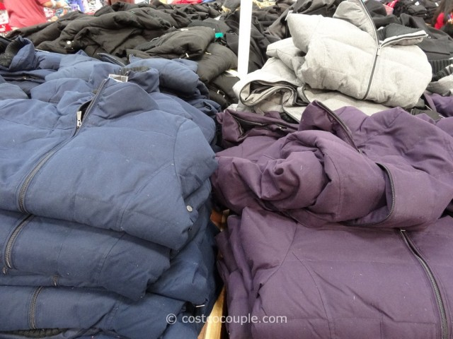 Weatherproof Ladies Down Jacket With Knit Collar Costco 6