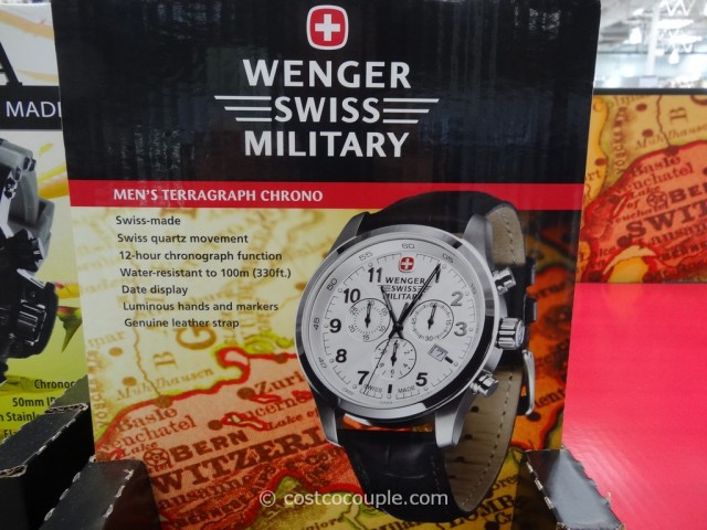 Wenger Swiss Military Mens Terragraph Chrono Costco 1
