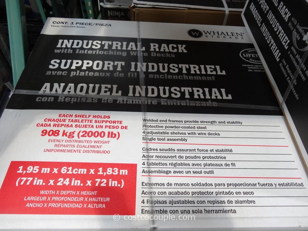 Whalen Industrial Rack
