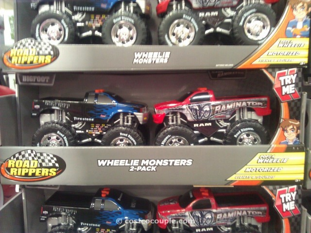 Wheelie Monsters 2 Pack Costco 1