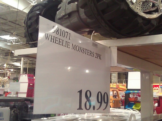 Wheelie Monsters 2 Pack Costco 4