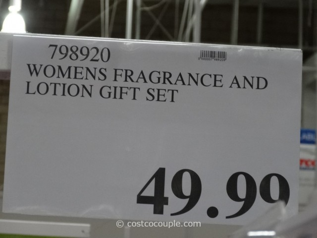 Women's Designer Fragrance and Lotion Gift Set Costco 2
