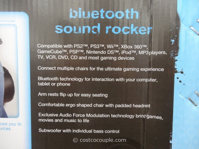 X-Pro XRocker Bluetooth Sound Rocker Costco 2