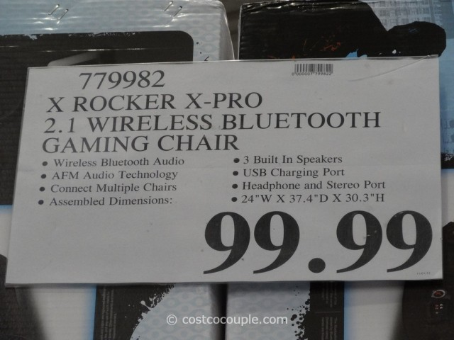 X-Pro XRocker Bluetooth Sound Rocker Costco 5