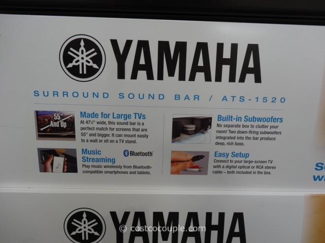 Yamaha Soundbar ATS-1530 Costco 2