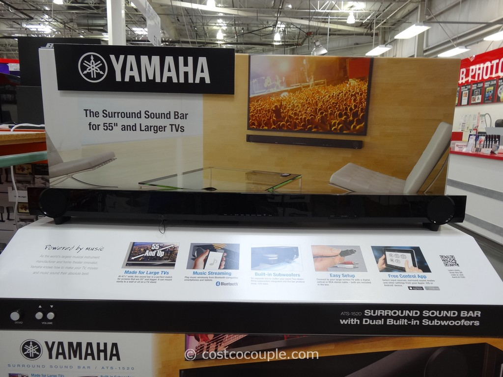 Yamaha Soundbar ATS-1530 Costco 3