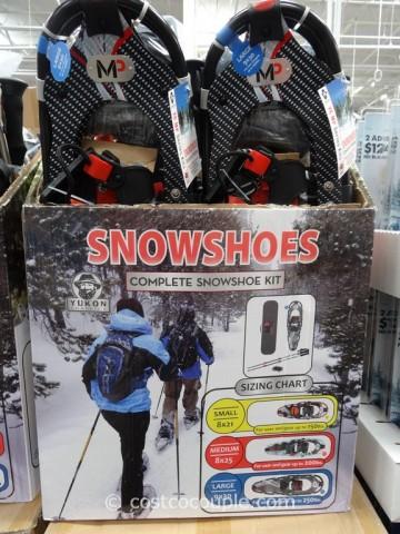 Yukon Charlies Adult Snowshoe Kit Costco 2