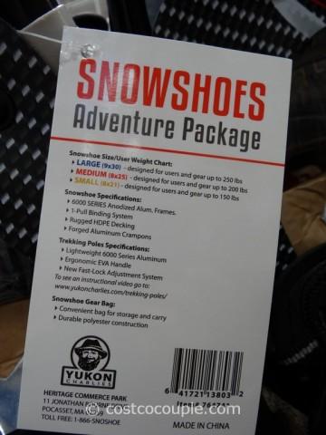 Yukon Charlies Adult Snowshoe Kit Costco 5