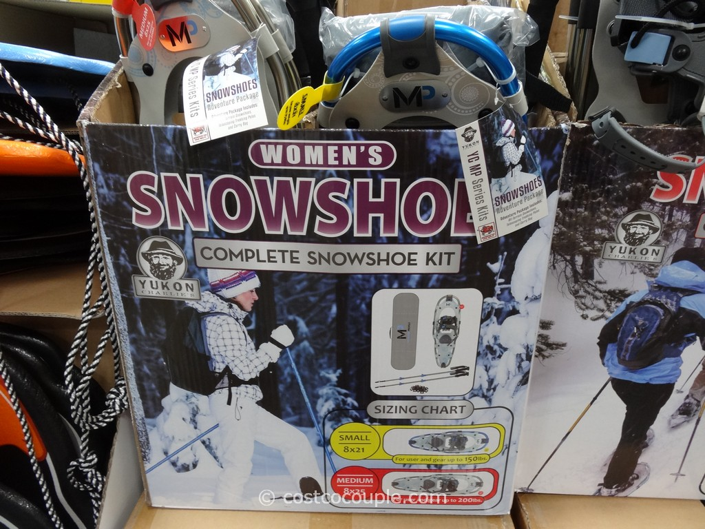 Yukon Charlies Ladies Snowshoe Kit Costco 1
