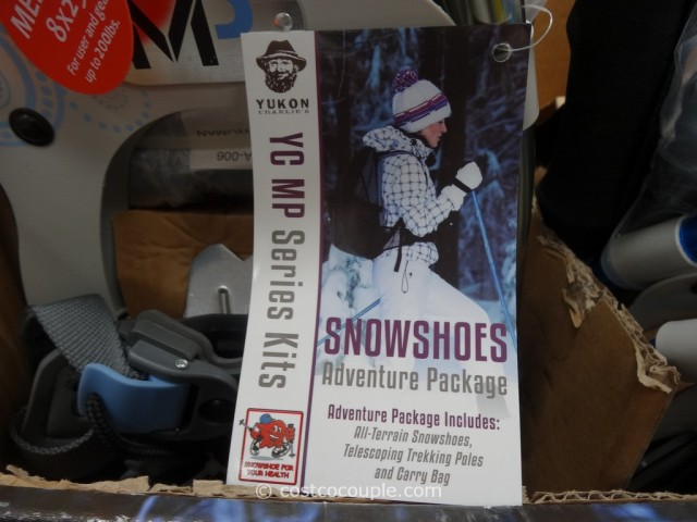 Yukon Charlies Ladies Snowshoe Kit Costco 3