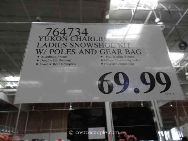Yukon Charlies Ladies Snowshoe Kit Costco 5