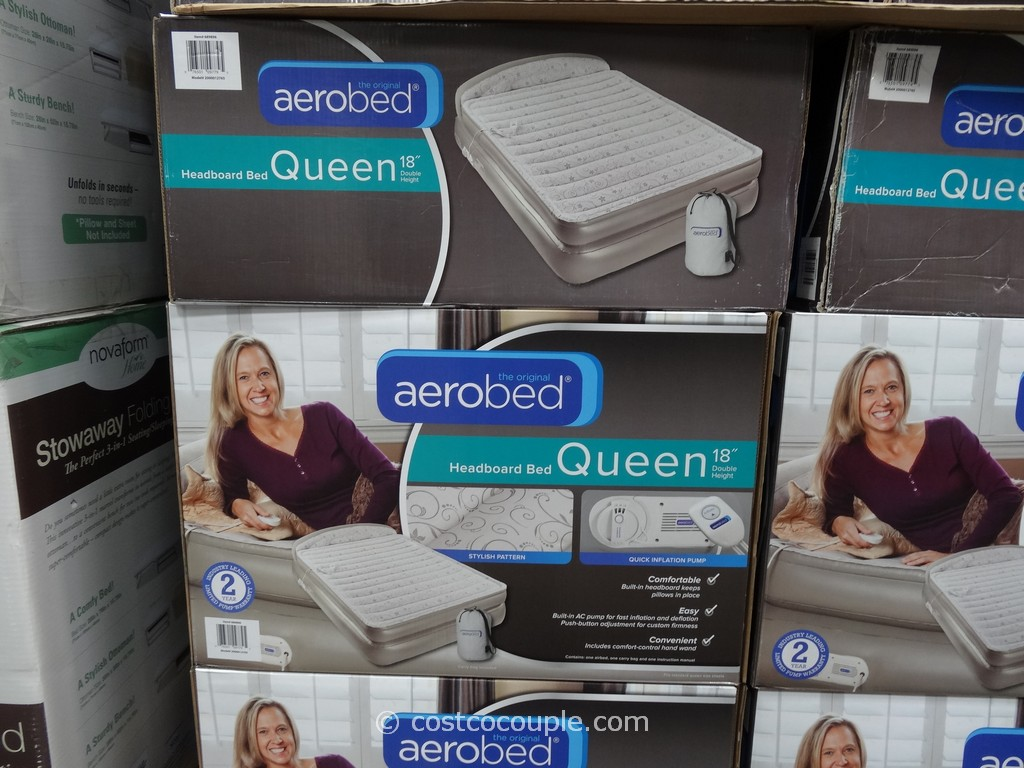 Aerobed Headboard Queen Bed Costco 3