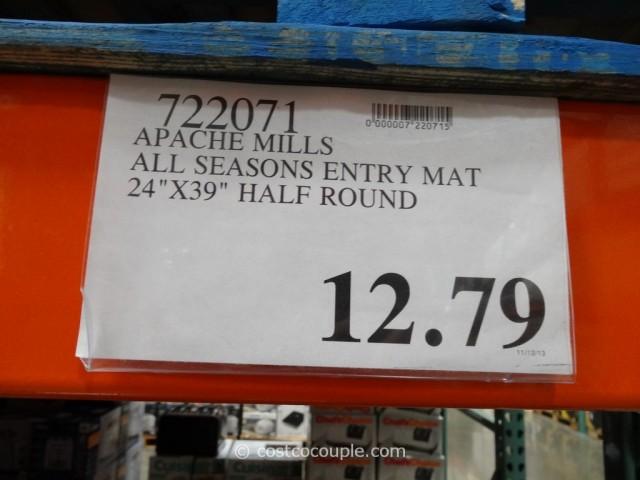 Apache Mills All Seasons Half Round Entry Mat Costco 1