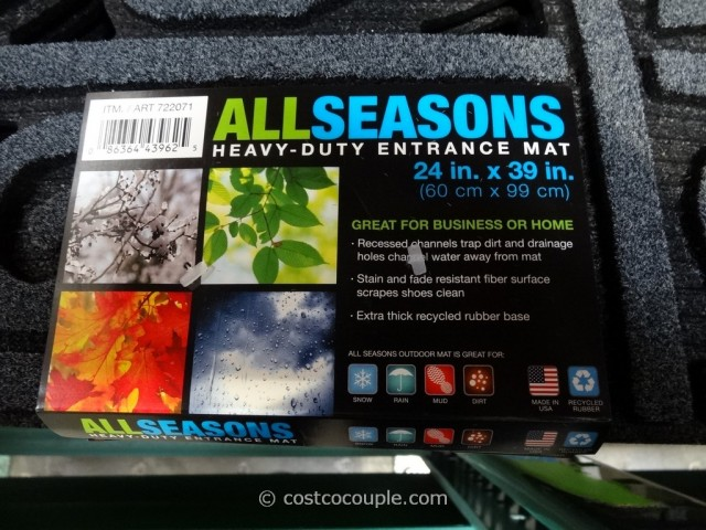 Apache Mills All Seasons Half Round Entry Mat Costco 2