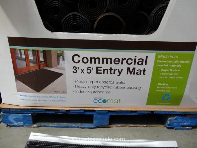 Apache Mills Commercial Plush Parquet Mat Costco 4