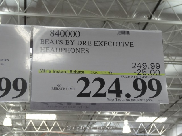 Beats By Dr Dre Executive Headphones