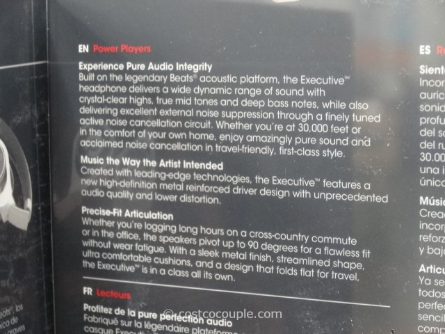 Beats By Dr. Dre Executive Headphones Costco 6