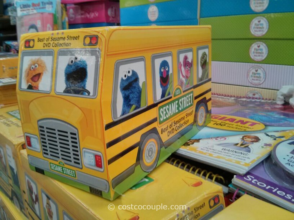 Best of Sesame Street DVD Collection Costco 2