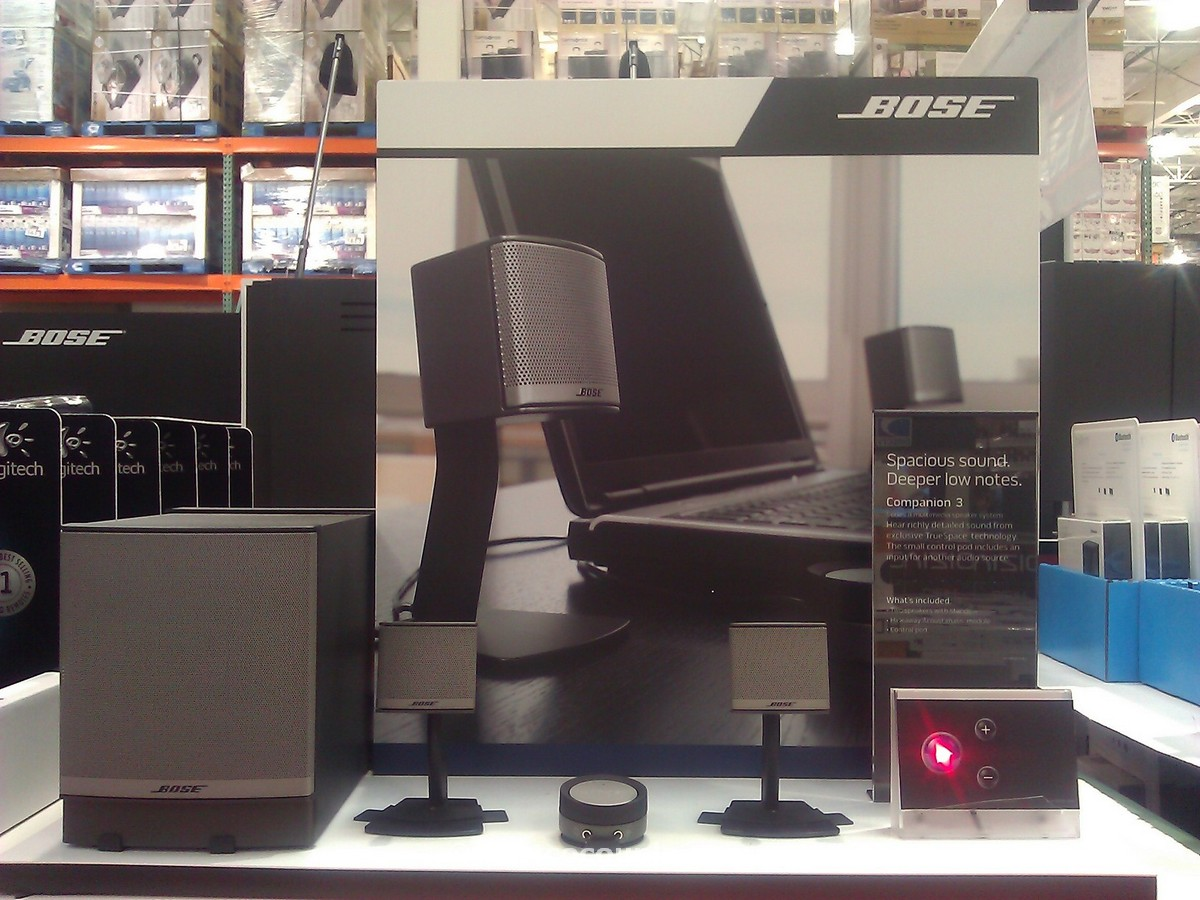 Bose Companion 3 Speaker System Costco 2