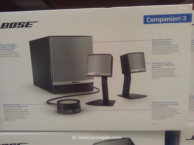 Bose Companion 3 Speaker System Costco 3
