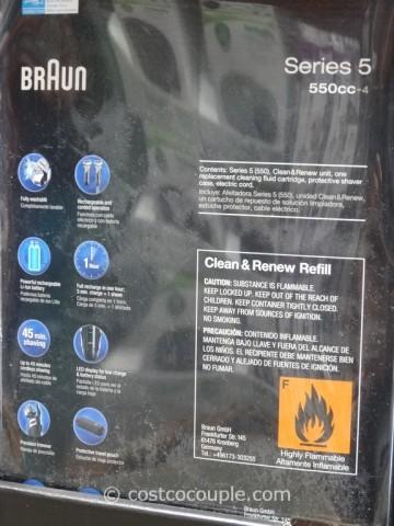 Braun Series 5 Shaver System Costco 4