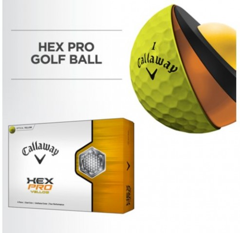 Callaway Hex Pro Yellow Golf Balls Costco 2